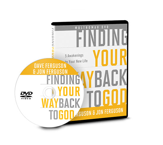 DVD Can I Find My Way Back to God by Dave Ferguson and Jon Ferguson